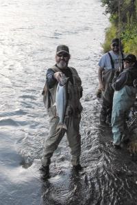 Kenai Fishing Frank
