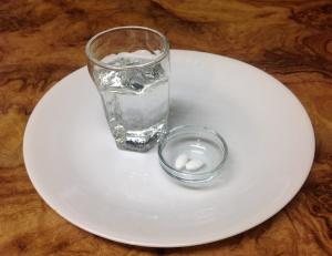 Penicillin on a plate