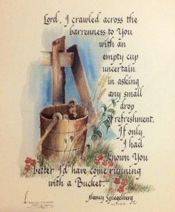 Bucket poem